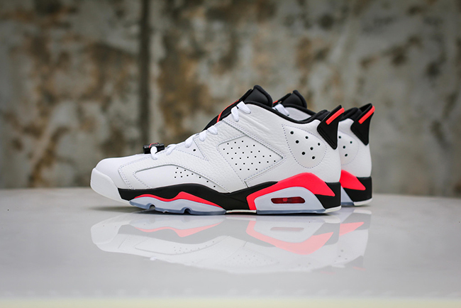 2efbf47a0b4cd3 Air Jordan 6 Low White Infrared