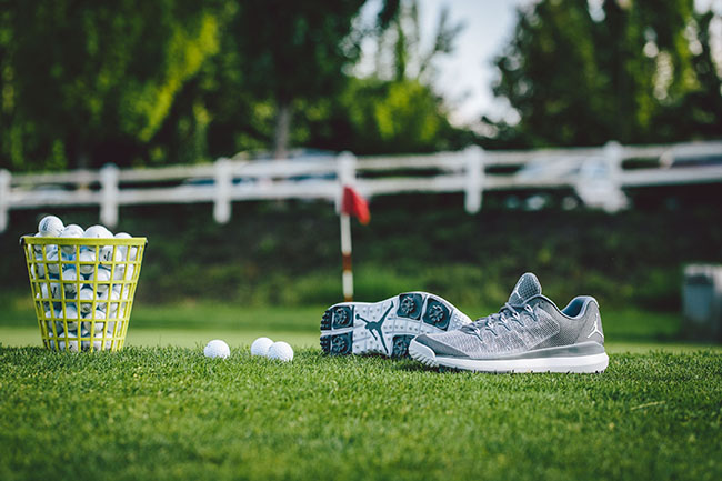 Jordan Flight Runner Golf Grey