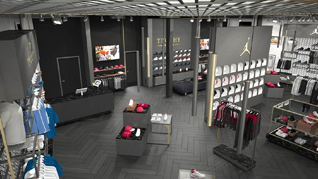 Marcus Jordan Sneaker Store Trophy Room Sneakerfiles