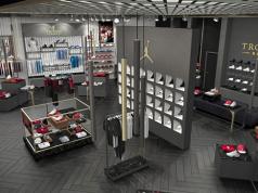 Marcus Jordan Sneaker Store Trophy Room