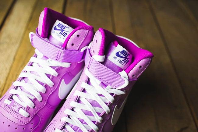 Nike Air Force 1 High GS Pink White