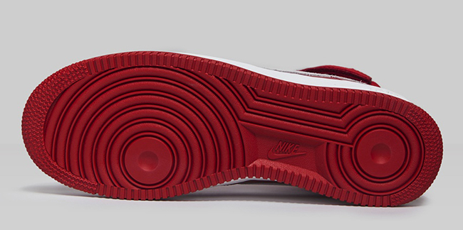 Nike Air Force 1 High Naike Gym Red