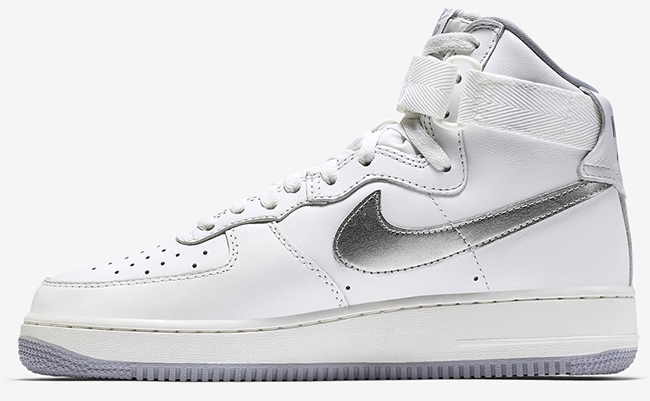 Nike Air Force 1 High White Wolf Grey Remastered