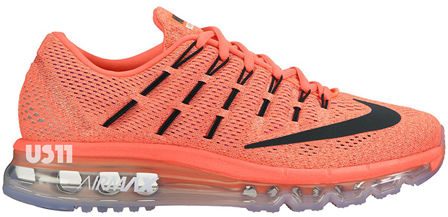 nike air max 2016 oranje wit