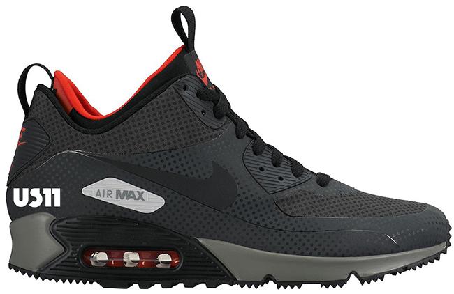 Nike Air Max 90 Mid Sneakerboot Fall Winter 2015