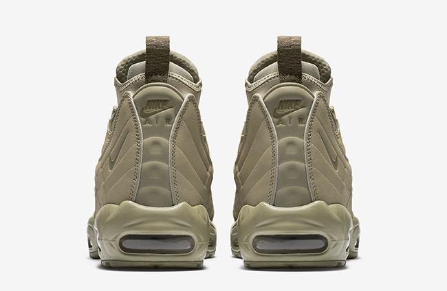 Nike Air Max 95 Sneakerboot Zip Wheat
