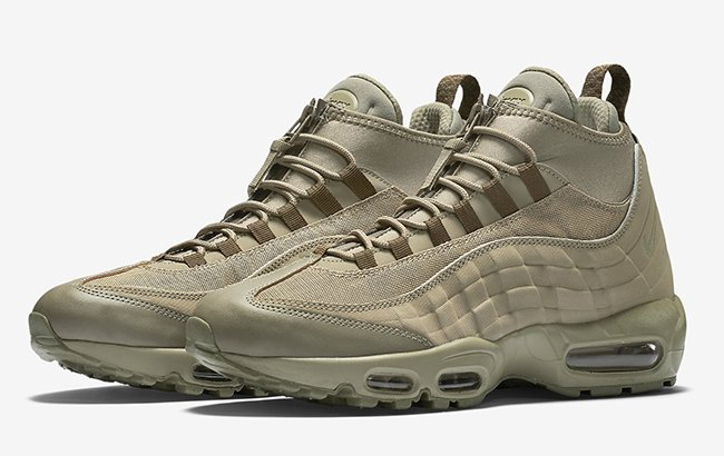 huge discount a4ee1 8e7a9 Nike Air Max 95 Sneakerboot Zip Wheat