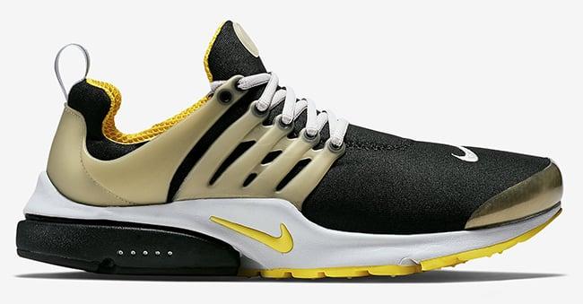 Nike Air Presto Black And Gold