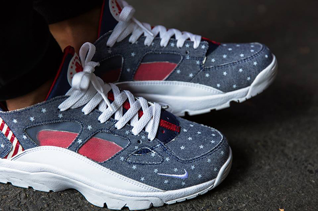 Nike Air Trainer Huarache Low USA On Feet
