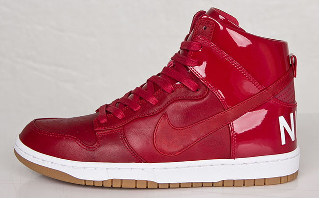 Nike Dunk High Lux SP Gym Red European Release Date