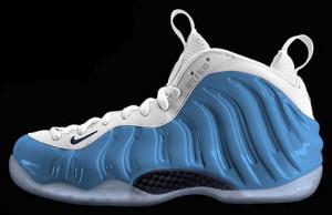 Nike Foamposite One Carolina Blue 2016 Photoshop