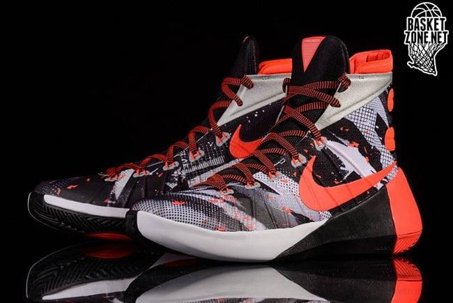 12052b113149 Nike Hyperdunk 2015 Bright Crimson