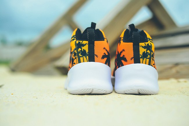 Nike Hyperfr3sh Quickstrike Palms Laser Orange
