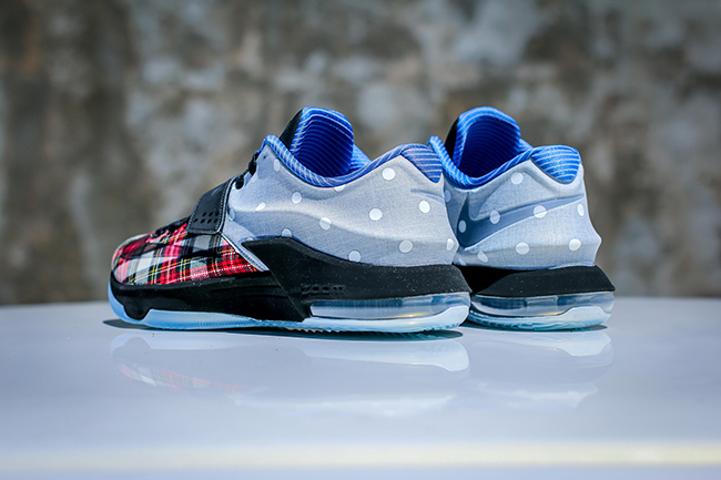new york 73948 cb30b Nike KD 7 EXT Plaid Polka Dots | SneakerFiles