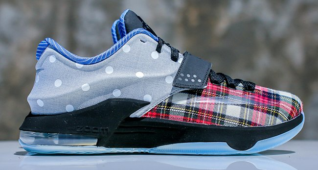 Nike KD 7 EXT Plaid Polka Dots  3499e1ca35