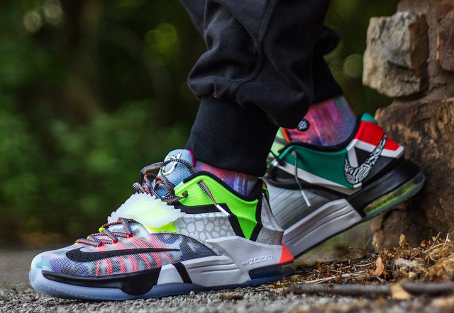 Nike KD 7 What The On Feet
