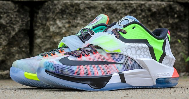pretty nice bfb00 76ba1 Nike KD 7 What The Releasing