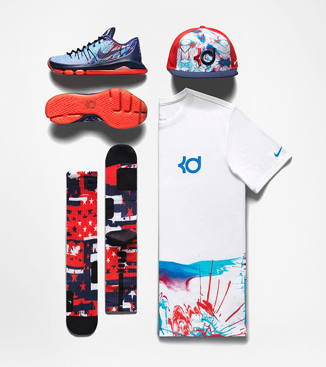 Nike KD 8 4th of July