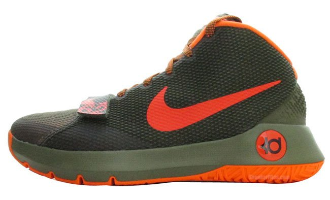 Nike KD Trey 5 III Medium Olive / Bright Crimson