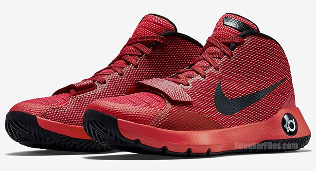 5b8c7973b845 Nike KD Trey 5 III Red Black