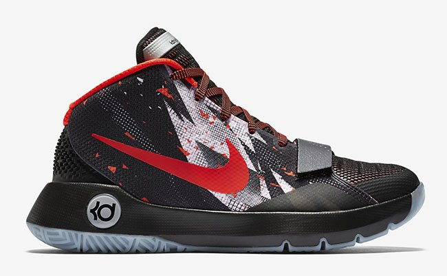 Nike KD Trey 5 III Thunder Bolt Bright Crimson