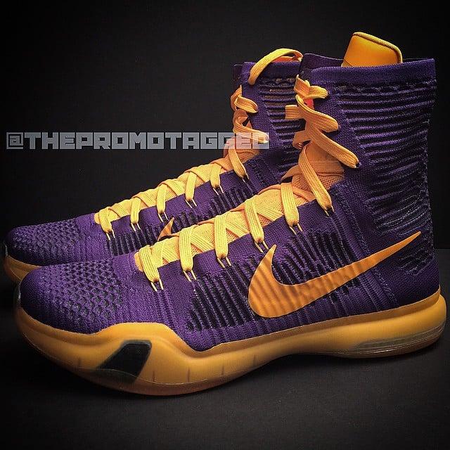 Nike Kobe 10 Elite LA Lakers PE