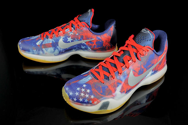 Nike Kobe 10 USA July 4th