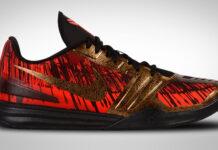 Nike Kobe Mentality Chilling Red Gold