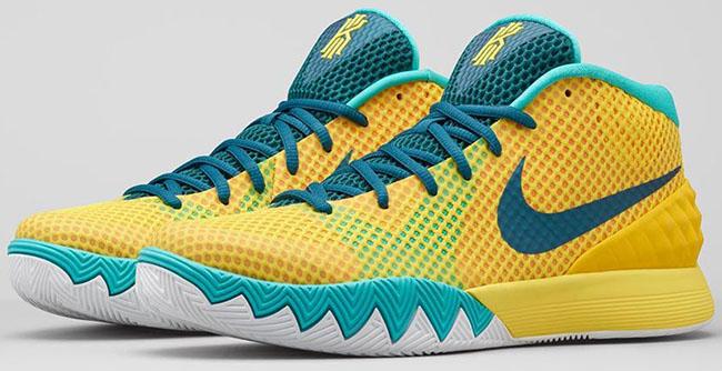 buy popular 220dd 7edcd Nike Kyrie 1 Letterman