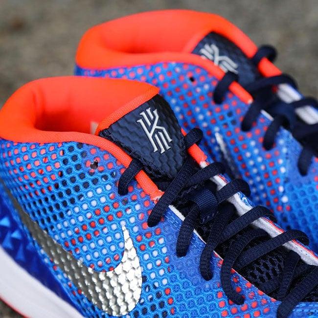 Nike Kyrie 1 Midnight Navy Blue Red White