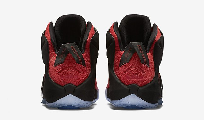 Nike LeBron 12 EXT Red Paisley
