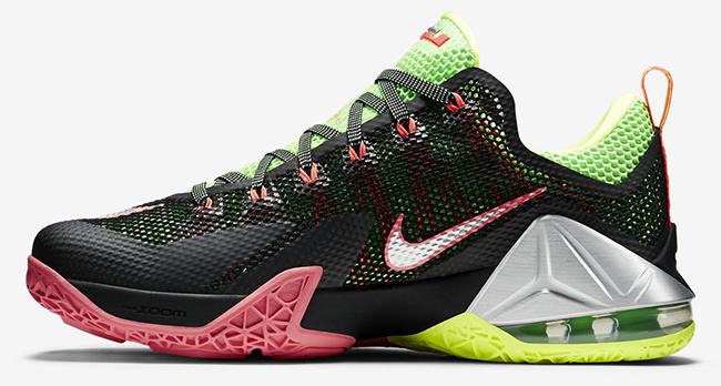 Nike LeBron 12 Low Remix