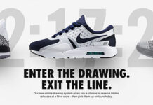 Nike Announces Online Sneaker Raffle System