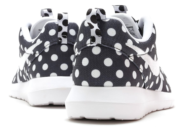 Nike Roshe Run NM Polka Dot Black