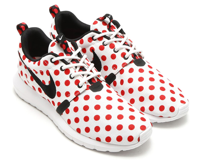 Nike Roshe Run NM Polka Dot Red