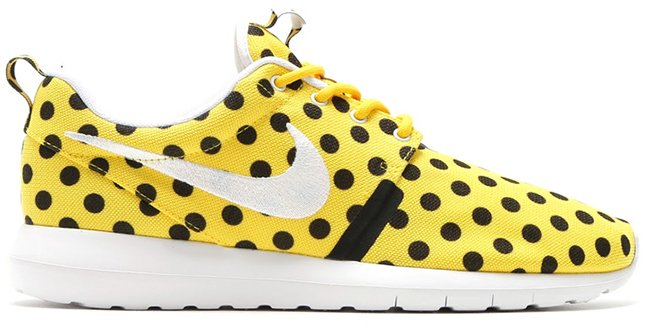 Nike Roshe Run NM Polka Dot Yellow