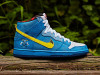 Familia Nike SB Dunk High Blue Ox