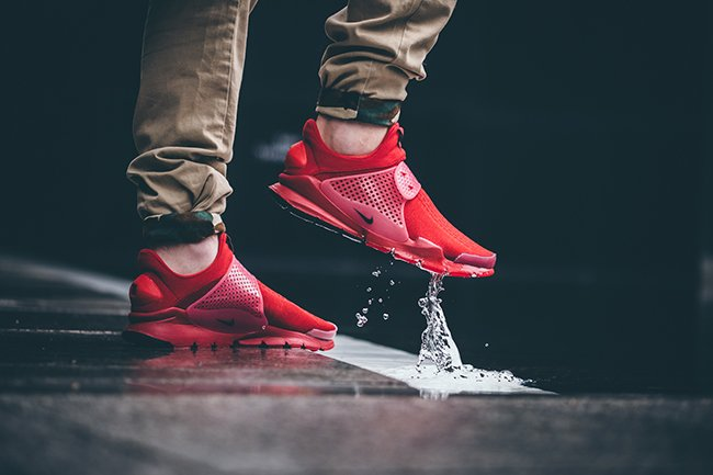 Nike Sock Dart Independence Day Pack On Feet