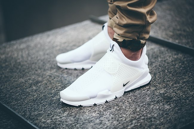 Nike Sock Dart Independence Day White On Feet