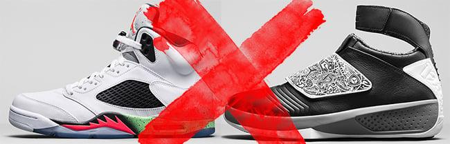 NikeStore Cancels Pro Stars Jordan 5 Playoff Jordan 20 Release Tomorrow