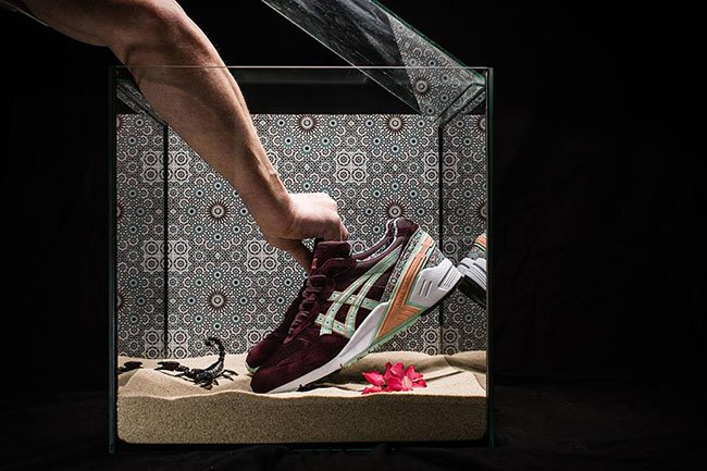 asics gel sight desert rose