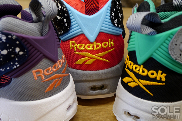 Reebok Insta Pump Furry Splatter Pack