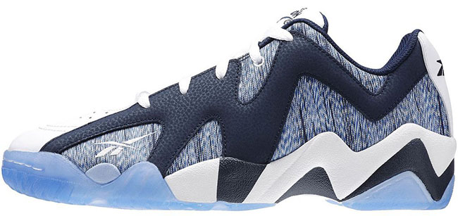 Reebok Kamikaze 2 Low Navy Blue White