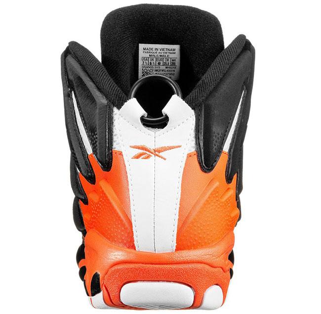 Reebok Pump Blast Black Orange