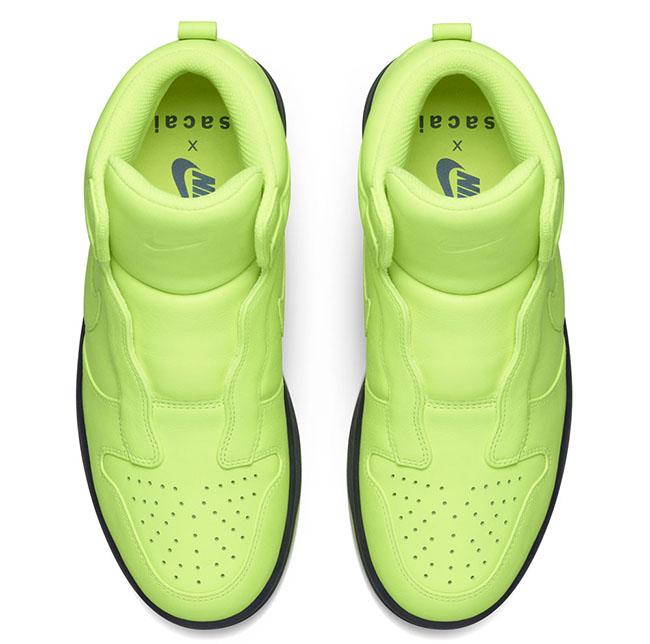 Sacai NikeLab Dunk Lux High Volt