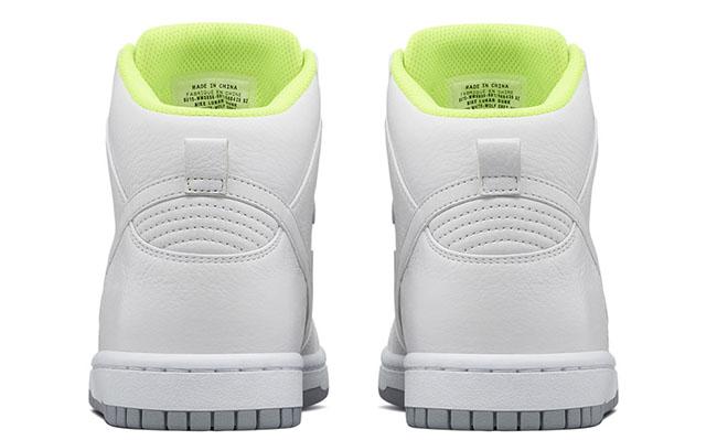 Sacai NikeLab Dunk Lux High White