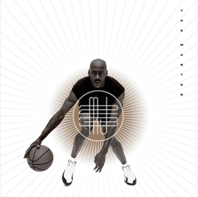 The Master Air Jordan 12 Poster