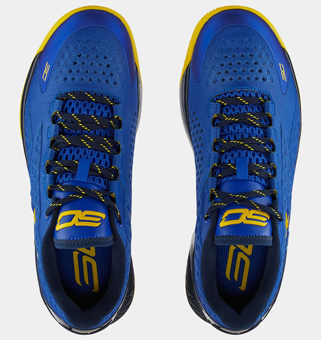 Under Armour Curry One Low Warriors Release Date