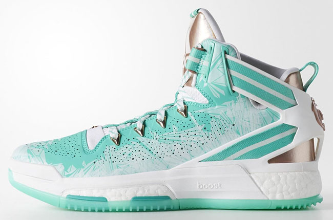 57a65259bfe Detailed Look at the adidas D Rose 6 Boost Christmas hot sale ...