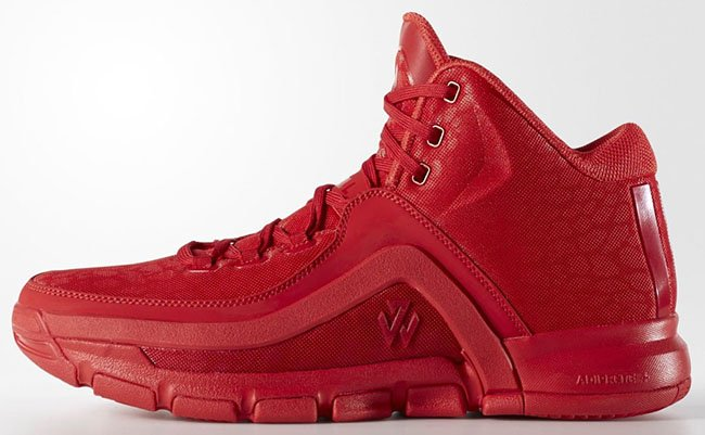 adidas J Wall 2 Scarlet Red